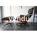 lounge chair rosewood palissandre de rio eames herman miller